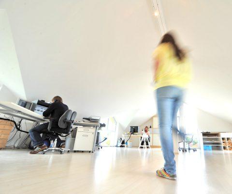 Fotostudio Dahmke, Arbeitsraum